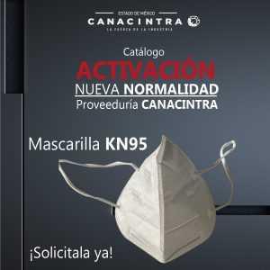 Mascarilla KN95 ¡disponibles!