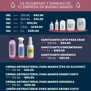 Productos de sanidad para tu empresa