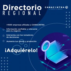DIRECTORIO REGIONAL CANACINTRA
